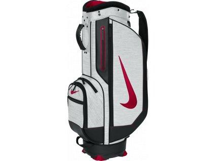 Nike cart bag Retro III bílo-červeno-černý  + Golfová pravidla