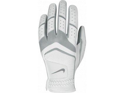 NIKE dámská rukavice Dura Feel V bílo-šedá (Velikost rukavic L)