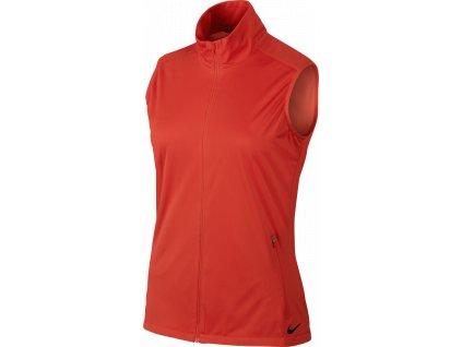 NIKE dámská vesta Shield Wind Vest červená (Velikost oblečení S)