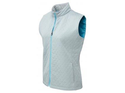 FOOTJOY dámská vesta Quilted šedo-modrá (Velikost oblečení L) 0772196049