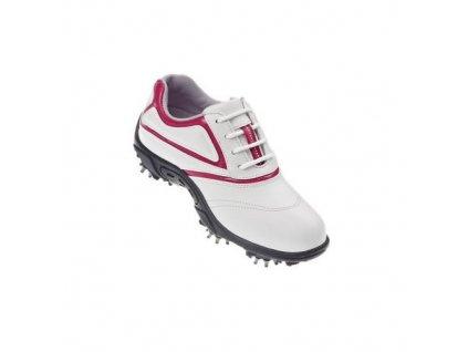 FOOTJOY golfové boty Junior bílo-fuchsiové (Velikost bot 32.5)