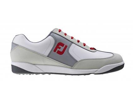 FOOTJOY golfové boty AWD XL Casual bílo-šedo-červené (Velikost bot 47)