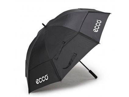 """ECCO deštník 62"""" Double Canopy černý"""
