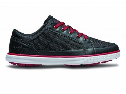 CALLAWAY pánské golfové boty M239-02 Del Mar Ballistic černé (Velikost bot 41)