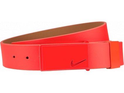 NIKE pánský golfový pásek Sleek Modern Tonal červený