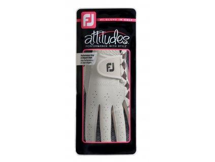 FOOTJOY dámská rukavice Attitudes bílo-šedá (Velikost rukavic S)