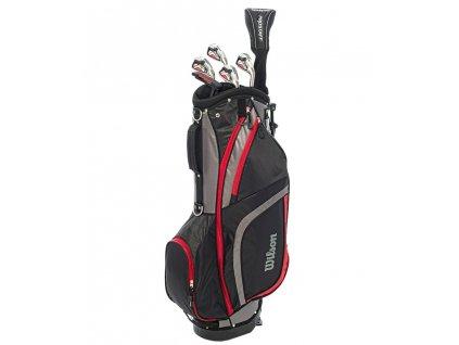 WILSON pánský golfový půlset Pro Staff HDX Steel  + Golfová pravidla