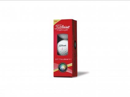 TITLEIST golfové míčky DT TRUSOFT (3 ks)