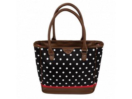 CALLAWAY kabelka Uptown černo-bílá