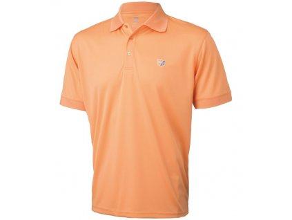 WILSON tričko Authentic meruňkové