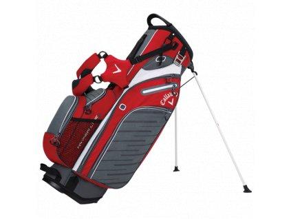 CALLAWAY bag na záda Hyper-Lite 5 červeno-bílo-šedý