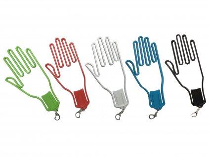 Sušák na rukavice s možností zavěšení na bag