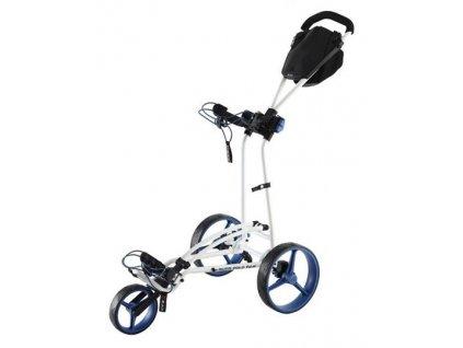 Big max Autofold golfový vozík bílo modrý