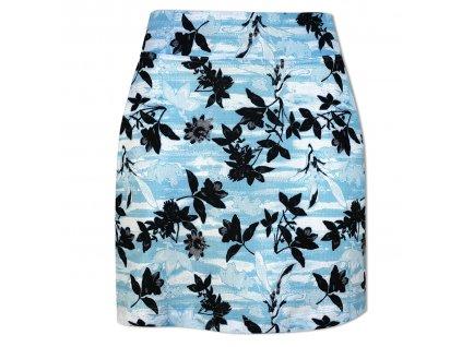 CALLAWAY dámská sukně Honey Comb Flo modrá zepředu