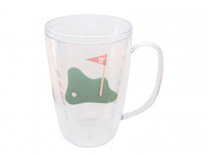 Plastová sklenice 450 ml s golfovým motivem - 1 kus