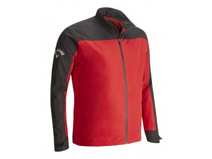 Callaway pánská bunda Blocked Waterproof červená