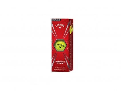 callaway chrome soft 16 golfove micky zlute 3 ks
