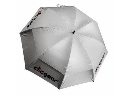 CLICGEAR deštník silver