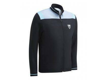 CALLAWAY Colour Block pánská golfová bunda černá zepředu