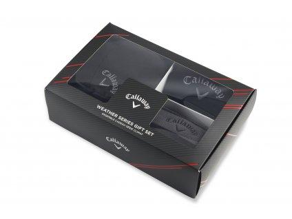 CALLAWAY zimní dárkové balení 3v1 černé