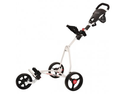 fastfold junior 3 rad trolley bílý