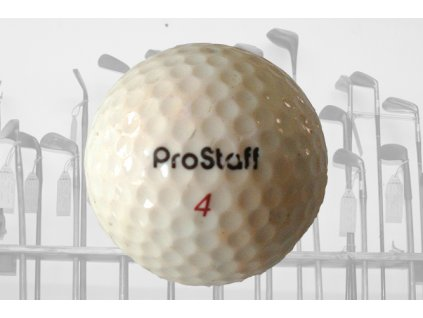 Historický golfový míček Wilson ProStaff č. 4