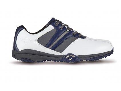 CALLAWAY pánské golfové boty M190-26 Chev Comfort bílo-šedo-modré (Velikost bot 44.5)