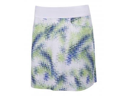 CALLAWAY dámská sukně Starburst bílo-modro-zelená
