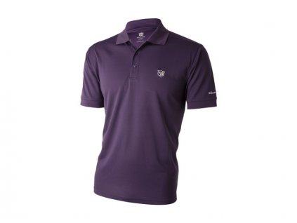 WILSON pánské tričko Authentic fialové (Velikost oblečení L)