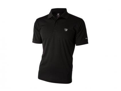 WILSON pánské tričko Authentic černé (Velikost oblečení L)