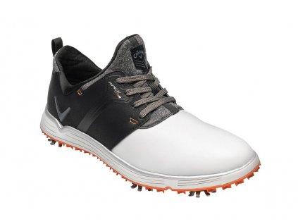 CALLAWAY M571-50 Apex Lite S pánské golfové boty černo-bílé zepředu