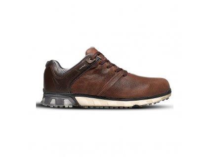 CALLAWAY M570-17 Apex Pro pánské golfové boty hnědé z boku