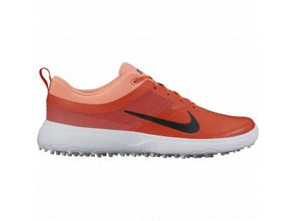 NIKE dámské golfové boty Akamai červeno-oranžové (Velikost bot 39)