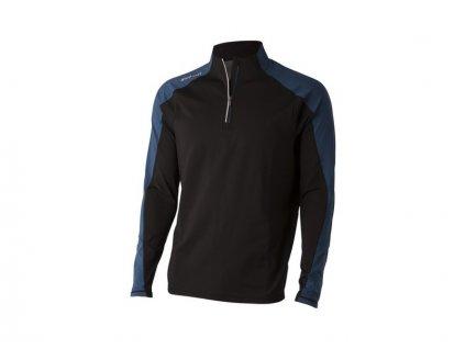 WILSON mikina Perf Thermal Tech černo-modrá (Velikost oblečení XXL)
