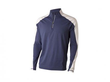 WILSON mikina Perf Thermal Tech modro-bílá (Velikost oblečení XXL)