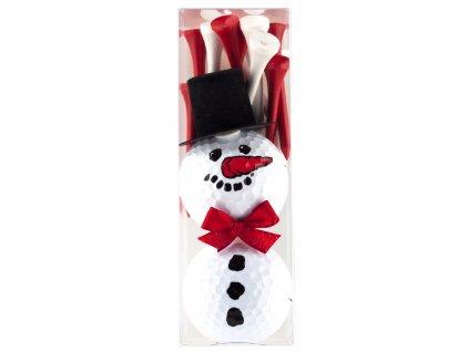 SPORTIQUES dárkové balení sněhulák