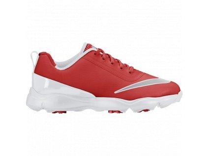 Nike dětské golfové boty Control červeno-oranžové (Velikost bot 32)