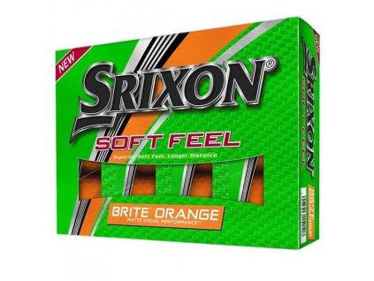 golfové míčky srixon soft fee brite oranžové