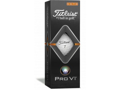 2019 ProV1 Sleeve White High Number right facing