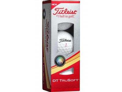 TITLEIST DT Trusoft golfové míčky (3 ks)