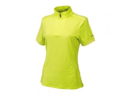 WILSON dámské tričko Performance Zip zelené