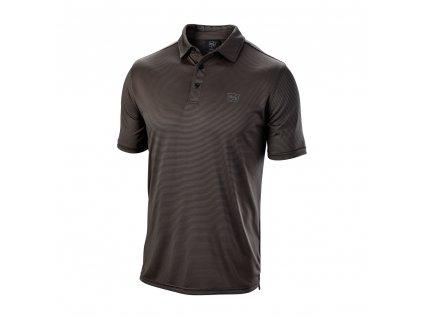 WILSON pánské tričko Stripe černé zepředu