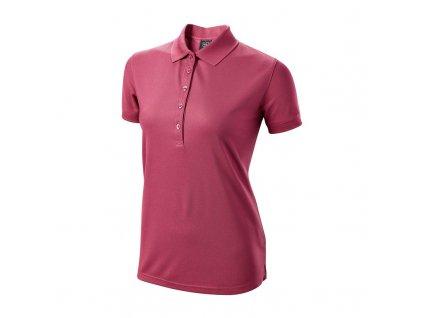 WILSON dámské tričko Authentic růžové zepředu