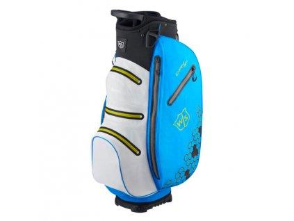 WILSON Dry Tech II cart bag na vozík modrý