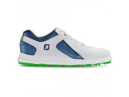 FOOTJOY Pro/SL dětské golfové boty bílo-modré