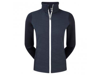 FOOTJOY Thermal Quilted dámská golfová bunda modrá
