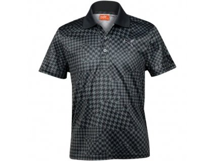 PUMA dětské tričko Wave Camo černé (Velikost oblečení XL)
