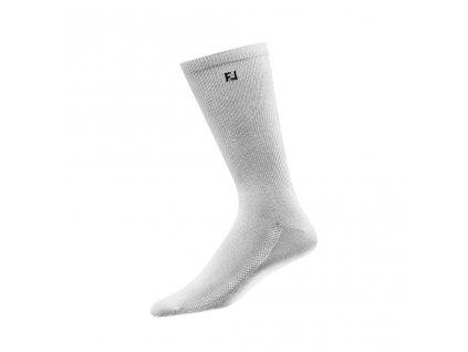 FOOTJOY pánské golfové ponožky ProDry Lightweight Crew bílé