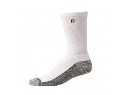 FOOTJOY pánské golfové ponožky ProDry Crew bílé