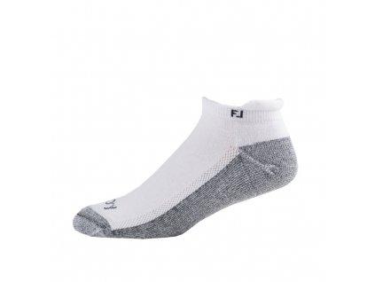 FOOTJOY pánské golfové ponožky ProDry Roll Tab bílé